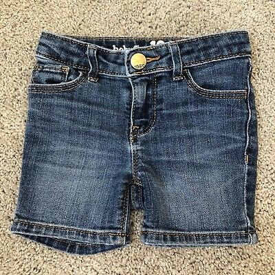 Baby Gap Girls Jean Denim Shorts. 2 Years. 2T.