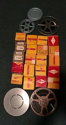 Lot of 23 Reels of 8mm Home Movies