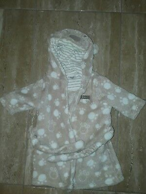 1 month dressing gown unisex