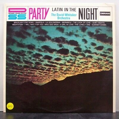 (o) The David Whitaker Orchestra - Latin In The Night (Promo-LP)