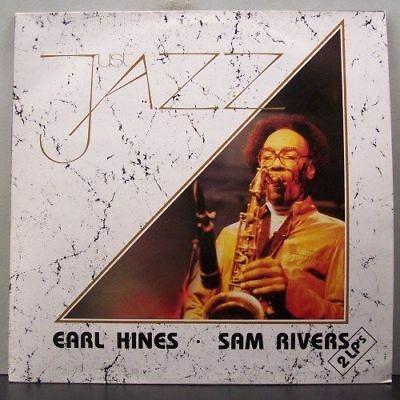 (o) Earl Hines & Sam Rivers - Just Jazz (2-LP, Italy)