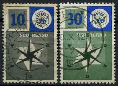 Stamps Europe Beautiful Netherlands 1957 Europa 30c Sg 856 Mm Mounted Mint *combined Shipping*