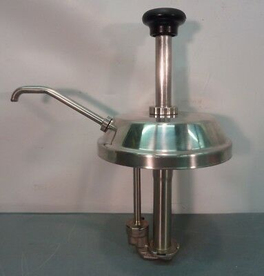 SERVER Model SP 82000 SYRUP TOPPING PUMP For #10 Can NSF stainless Steel