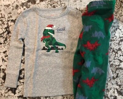 NWT BABY BOY CHRISTMAS 2pc. PAJAMA SET SIZE 18 MONTHS