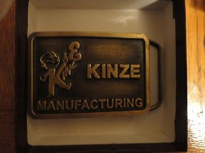 Kinze tractor, buckle john deere, international