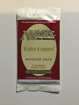 * Fallen Empires - Booster Pack x 1 * New From Sealed Box, MTG