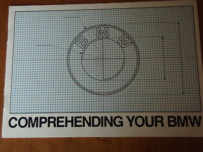 1980 BMW Comprehending your BMW Original Auto Brochure-Booklet