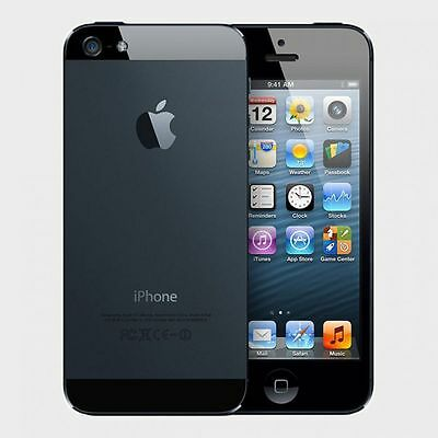 Apple iPhone 5 16GB Black - Factory Unlocked GSM (AT&T T-Mobile) Smartphone