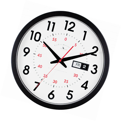Firstime Day Date Wall Clock 37 46 Picclick