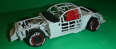 1/25 REAR STEER LATE Model Car Mountain CHASSIS NASCAR w/FORD engine,wheels