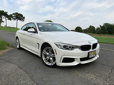 2015 BMW 4-Series M Sport Coupe 6 Speed Manual 2015 BMW 435i xDrive White Coupe 2Door with 6 Speed Manual LIKE NEW