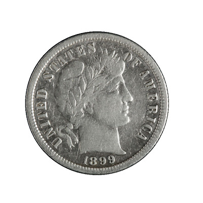 1899-S Barber Dime Great Deals From The TECC Bargain Bin
