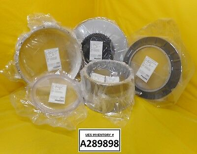 KoMiCo Drum Kit 5 Piece Upper Electrode Depo Ring Bellows Covers Refurbished