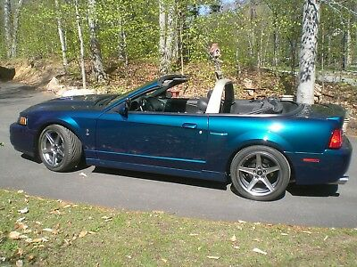 2004 Ford Mustang SVT Cobra 2004 Ford Mustang SVT Cobra Convertible Mystichrome, Supercharged, 6speed manual
