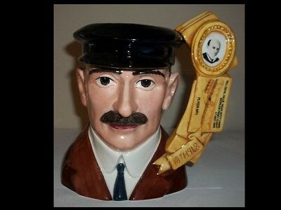 Royal Doulton Character Jug Orville Wright D7178 Limited Edition