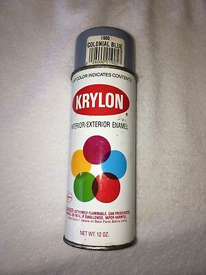 Vintage KRYLON 1905 Colonial Blue Spray Paint