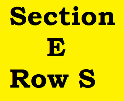 2 of 4 Tickets Jack White Rabobank Theater Bakersfield CA Sat. August 18, 2018