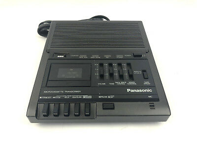 Panasonic RR-930 Microcassette Transcriber - Tested & Working
