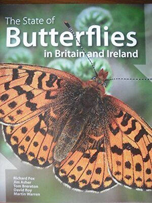State of Butterflies in Britain and Ireland by Warren, Martin Paperback Book The