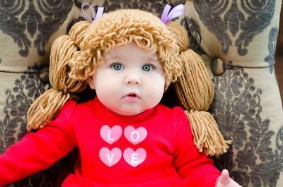 OB Crochet Baby Cabbage Patch Wig - Photo Prop