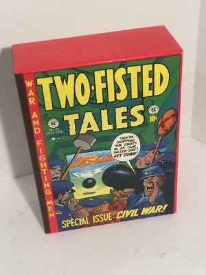 Two-fisted Tales 4 volume set with slipcase Russ Cochran EC Comics