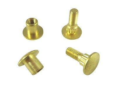 2 Piece Set Solid Brass Cap and Screw for Replacement & New Hand Saws 115725