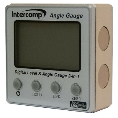 Intercomp Digital Angle Gauge 102144 Magnetic Level