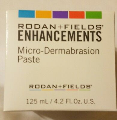 NEW Rodan and Fields Enhancements Micro-dermabrasion Paste LARGE 4.2 oz SEALED!