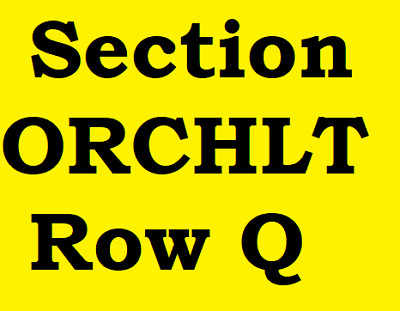 2 Tickets David Byrne Peabody Opera House St. Louis MO Friday June 8, 2018
