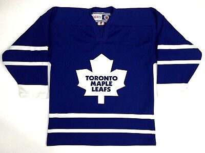 CCM Toronto Maple Leafs Hockey Jersey NHL Official Licensed Youth Size L/XL  C20