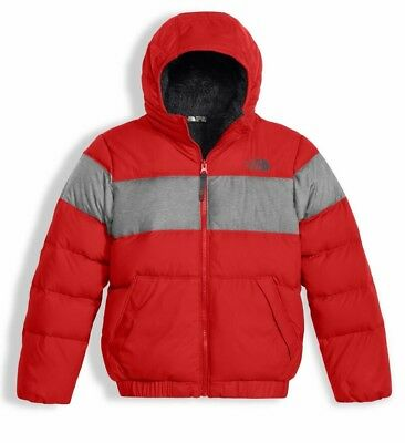 NWT $149 The North Face Boys Moondoggy 2 Down Hoody winter jacket M 10/12