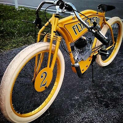 2018 Custom Built Motorcycles TRIBUTE REPLICA BTR  board track racer vintage motorcycle cafe antique indian motorized bike bicycle