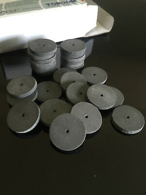 100pcs/box Dental SILICONE Diamond polishing Wheels Rubber 2.35mm