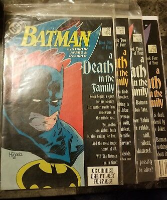 Batman #426 #427 #428 #429 (Dec 1988, DC) all 4 issues in one lot!