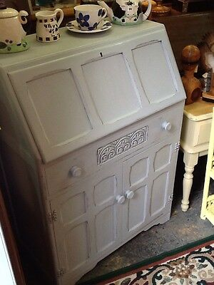 A Lovely Painted Shabby Chic Vintage Bureau
