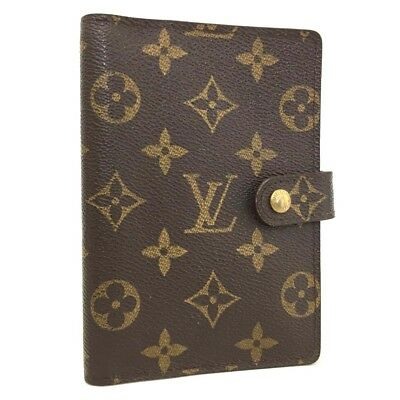 100% Authentic Louis Vuitton Monogram Agenda PM Notebook Cover /h255