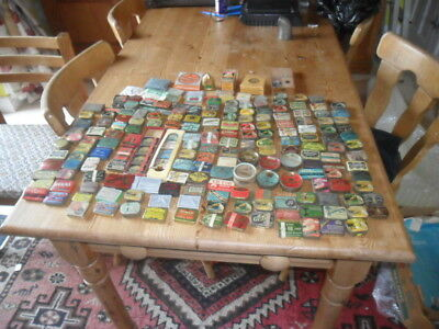 A collection of 190 approx of  gramophone phonograph needle tins etc