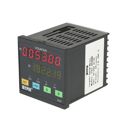 MYPIN FH7-6CRNB 90-260V AC/DC 6 Digital Length Counter Meter Intelligent Machine