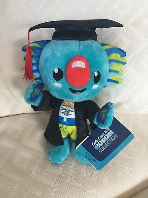 Commonwealth Games Borobi Plush in Griffith University Gown