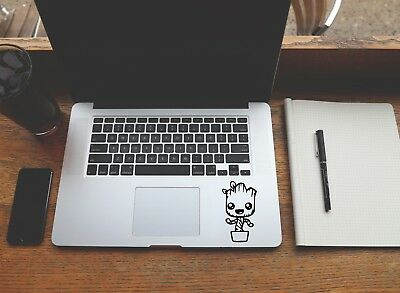 Baby Groot Macbook Sticker Laptop Decal Guardians Of The Galaxy 8 x 5 cm