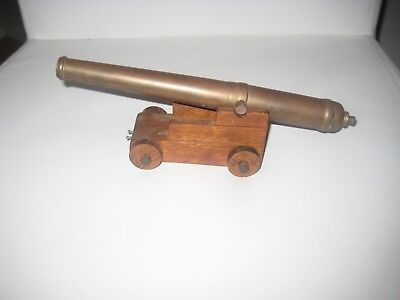 Small Brass Cannon.