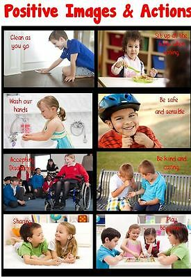 Positive Images Poster - Ofsted Requirement Class/Childminder Teaching Resource
