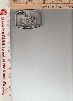 allis chalmers agco ready to rumble belt buckle