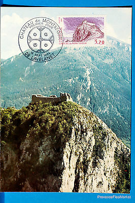 Yt Has 2335 LE CHATEAU OF MONTSEGUR FRANCE CARD MAXIMUM 1° DAY FCP