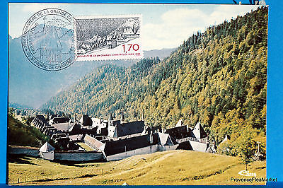 Yt Has 2323 ST ROCK CHARTREUSE ISÈRE FRANCE CARD MAXIMUM 1° DAY FCP