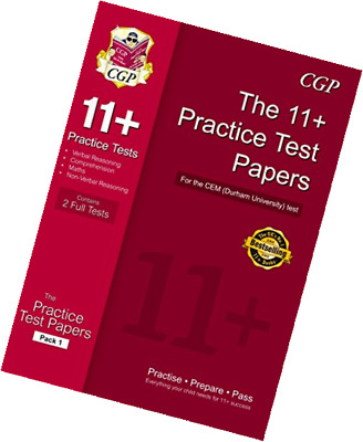 11+ Practice Papers for the CEM Test - Pack 1 (CGP 11+ CEM)