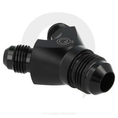 Alloy Y adaptor 3x male D08 - Black