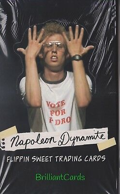 2005 Napoleon Dynamite Sealed Hobby Box 36 Packs Free Priority Shipping To USA