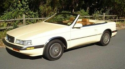 1990 Chrysler TC Maserati  Chrysler TC by Maserati - Convertible, Meticulously Maintained, Runs Flawlessly!