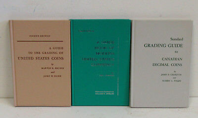 3 pc. Lot-Old Coin Books 1960's Whitman Publishing. USED
